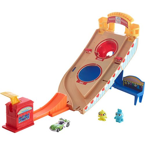 Toy Story 4 Hot Wheels Buzzlightyear Carnival Rescue Playset