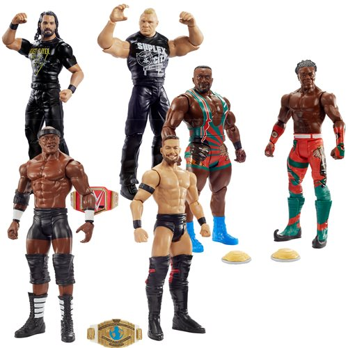 WWE Basic Series 63 Action Figure 2-Pack Case