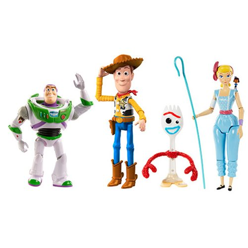 Toy Story 4 Adventure Story Action Figure 4-Pack