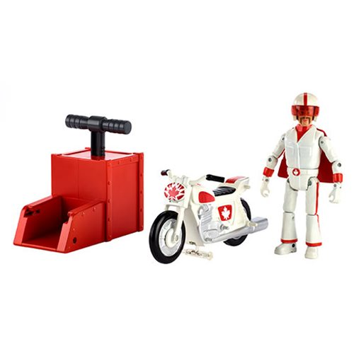 Toy Story 4 Stunt Racer Duke Caboom Action Figure with Vehicle