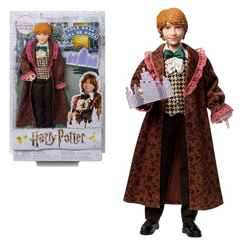 Harry Potter and The Goblet of Fire Yule Ball Ron Weasley Doll