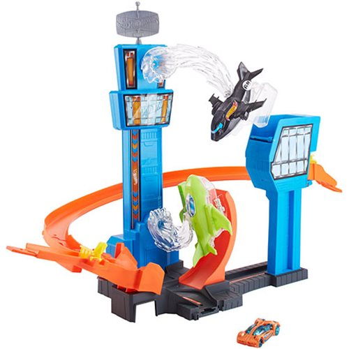 Hot Wheels Jet Jump Airport Track Set