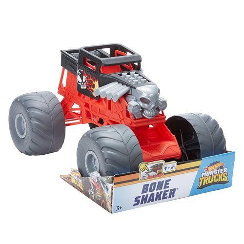 Hot Wheels Monster Trucks Bone Shaker Lights and Sounds Vehicle
