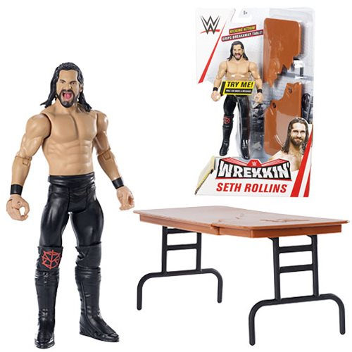 WWE Wrekkin' Seth Rollins Action Figure