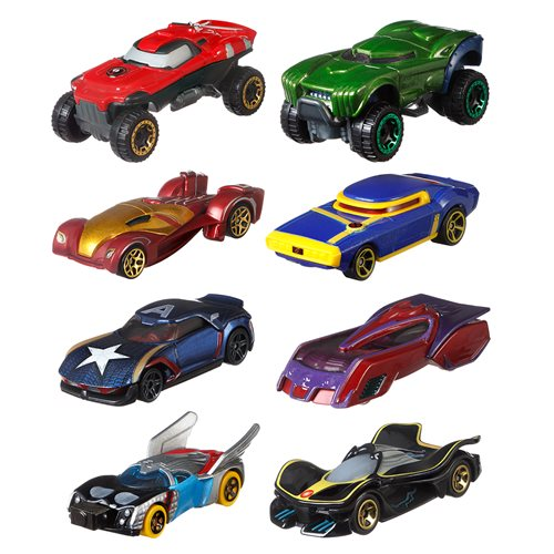Hot Wheel Studio Character Car Mix 1 Vehicle Case