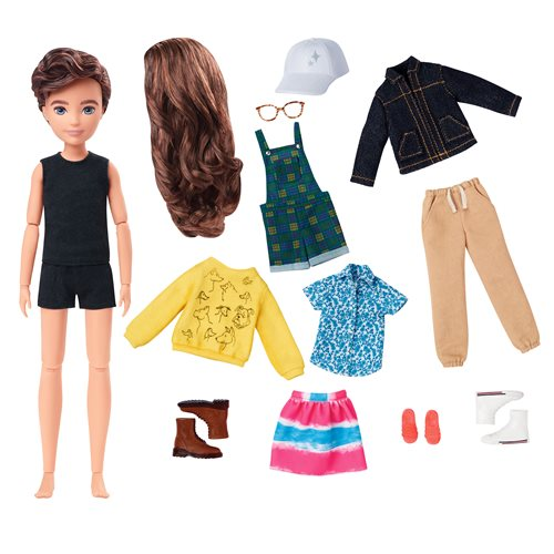 Creatable World Deluxe Character Kit DC-965 Doll