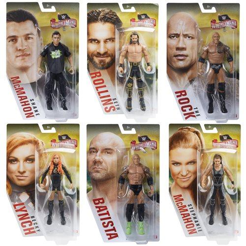 WWE WrestleMania Basic Action Figure Case