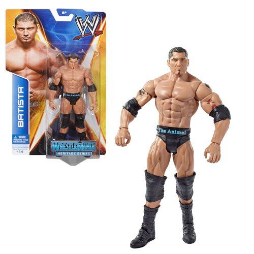WWE WrestleMania Basic Batista Action Figure
