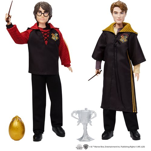 Harry Potter and The Goblet of Fire Triwizard Doll Case