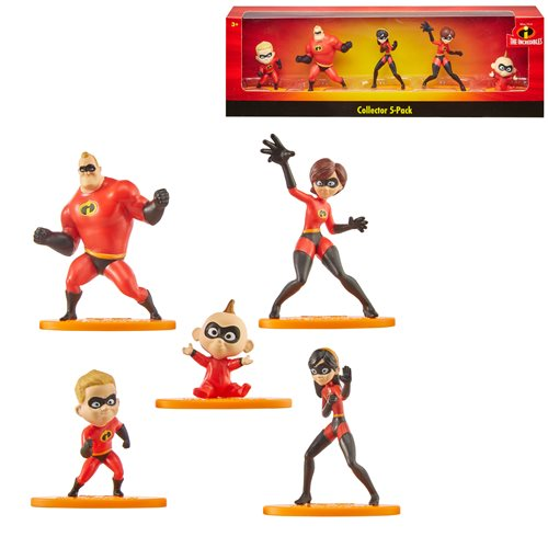 The Incredibles Mini-Figure 5-Pack