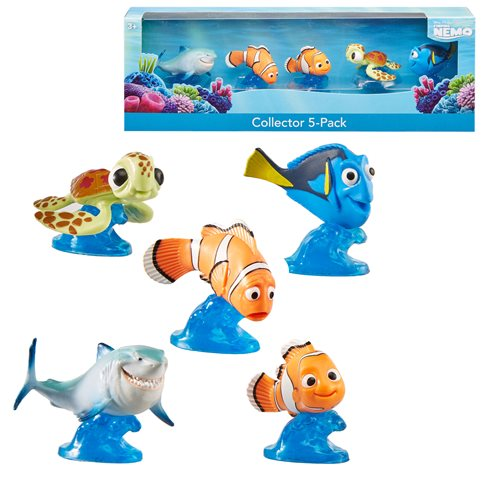 Finding Nemo Mini-Figure 5-Pack