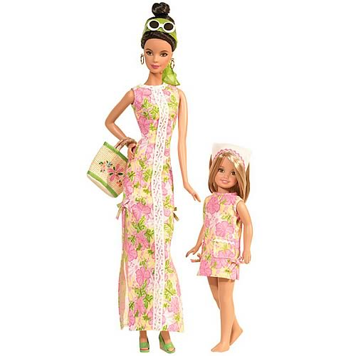 Barbie & Stacey Doll Gift Set by Lilly Pulitzer