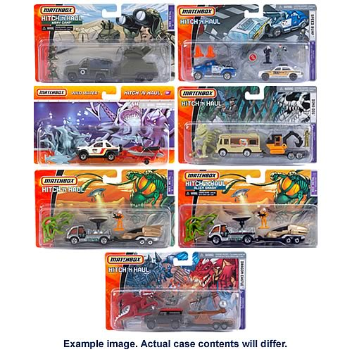Matchbox Hitch and Haul Wave 3 Case