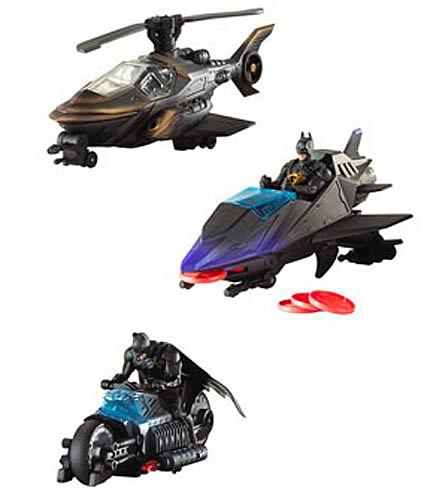 Batman Begins Vehicle and Figure Assortment