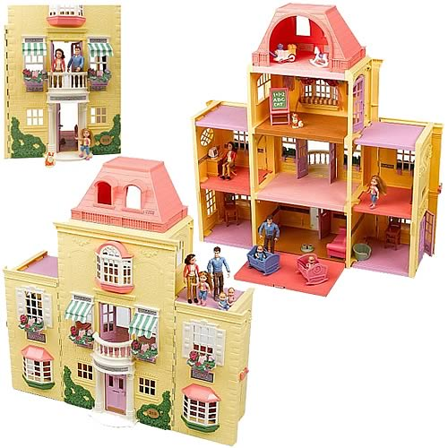 Fisher Price Loving Family Twin Time Dollhouse