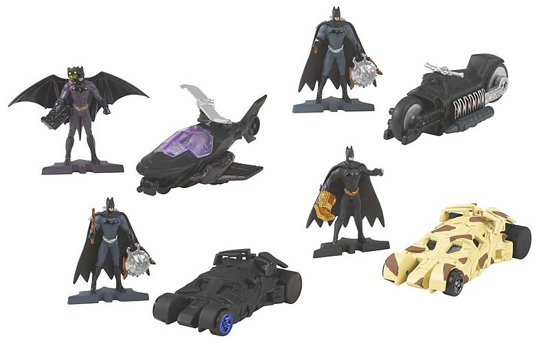 Batman Begins Hot Wheels Vehicle & Figure Assortment