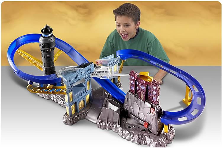 Batman Begins Hot Wheels Track Set