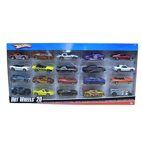 Hot Wheels Die-Cast Vehicles 20-Pack