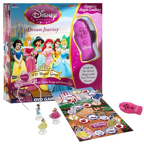 Disney Princess DVD Game
