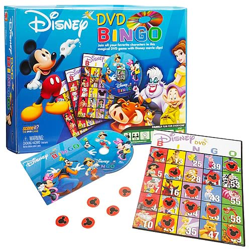 Disney Bingo DVD Game
