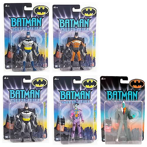 Batman Animated Series Action Figures Wave 1