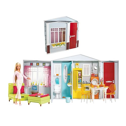 Barbie Totally Real House Playset