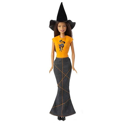 Halloween Hip Barbie Doll (African American)