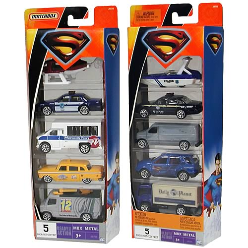 Superman Returns Matchbox Cars 5-Pack Assortment