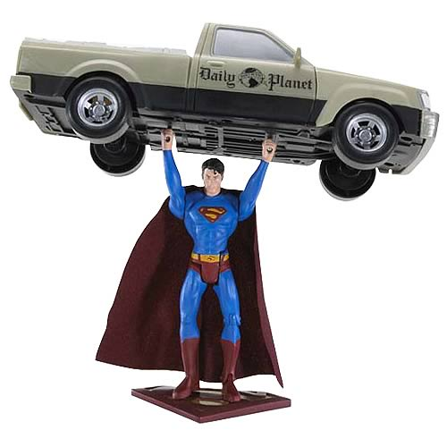 Superman Returns Truck Lifting Superman Figure