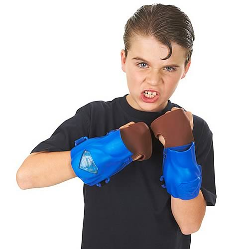 Superman Returns Punch and Crunch Gloves