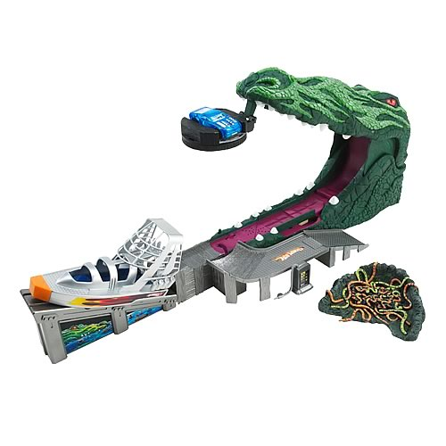 Hot Wheels Trap Jaw's Revenge Playset