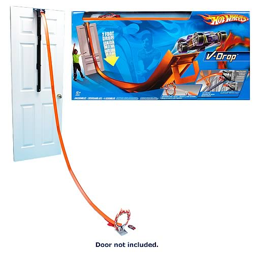 Hot Wheels V-Drop Super Velocity Track Playset