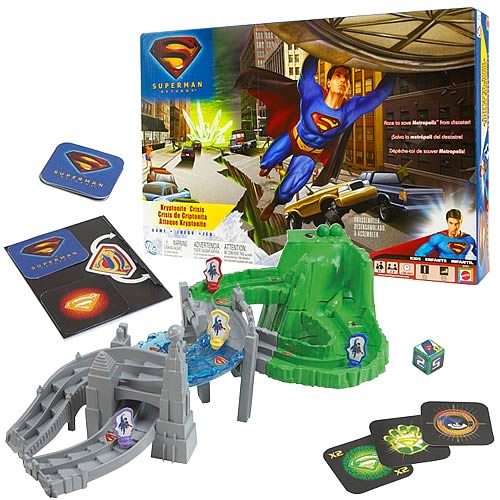 Superman Returns Kryptonite Crisis Game