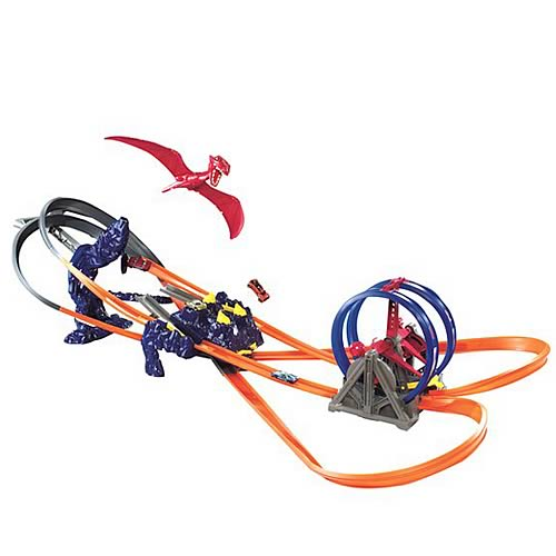 Hot Wheels Terror-Dactyl Race Track Set