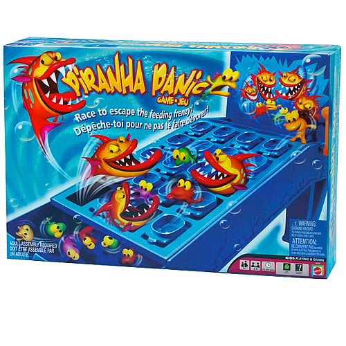 Piranha Panic Game