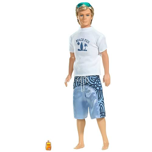 Barbie Beach Fun Ken Doll