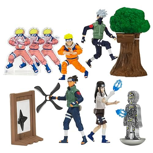 Naruto Training Deluxe Action Figures Wave 1