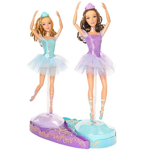 Barbie 12 Dancing Princesses Isla & Hadley Doll Set