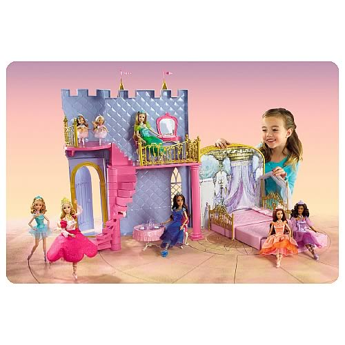 Barbie and the 12 Dancing Princesses Magical Castle Playset