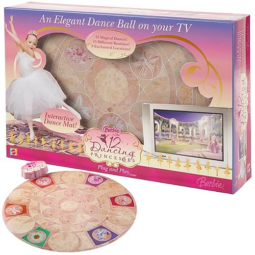Barbie 12 Dancing Princesses Interactive Dance Game