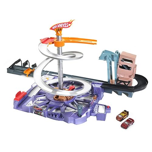 Hot Wheels Spin City Playset