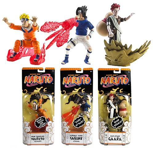 Naruto Death Deflyers 4 3/4-Inch Action Figure Case