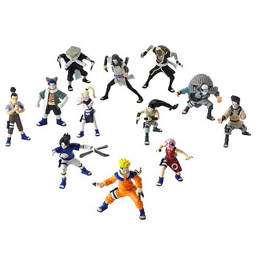 Naruto 3-Inch Action Figure 3-Pack Case