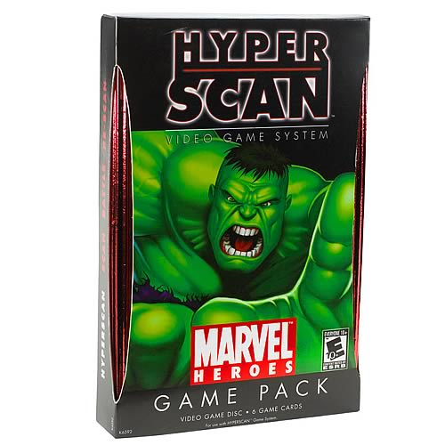 Hyperscan Marvel Heroes Game Pack