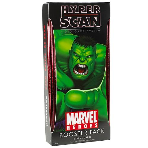 Hyperscan Marvel Heroes Booster Pack