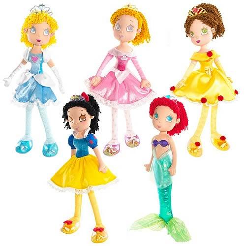 Disney Princess Cuddly Soft Dolls Wave 2 Case