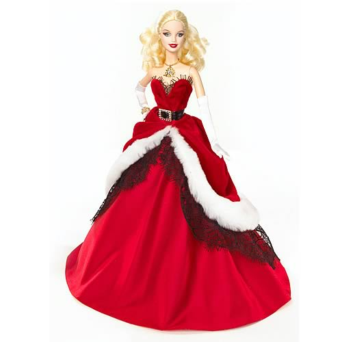 Barbie 2007 Holiday Doll