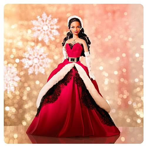 Barbie 2007 Holiday Doll (African American)