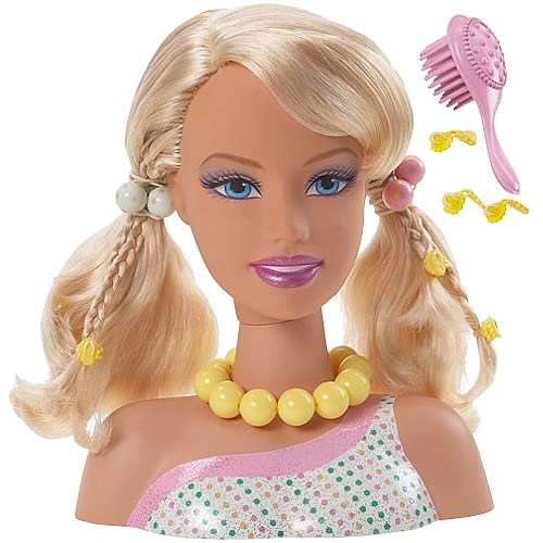 Barbie Beach Glam Styling Head