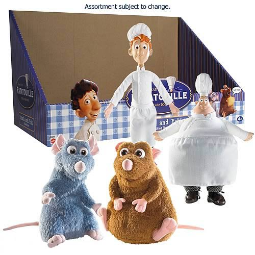 Ratatouille Talking Plush Assortment